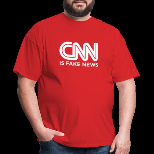 CNN Is Fake News - Men's T-Shirt