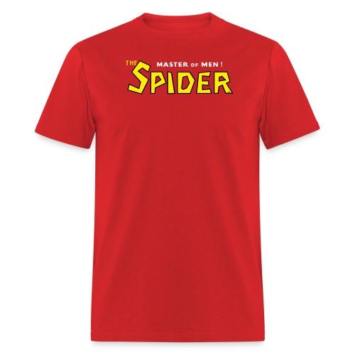 Spider Logo Black Outline - Men's T-Shirt