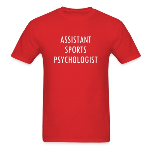 assistant sports psychologist new - Men's T-Shirt