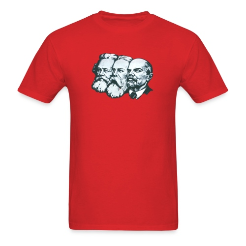 Marx, Engels and Lenin - Men's T-Shirt