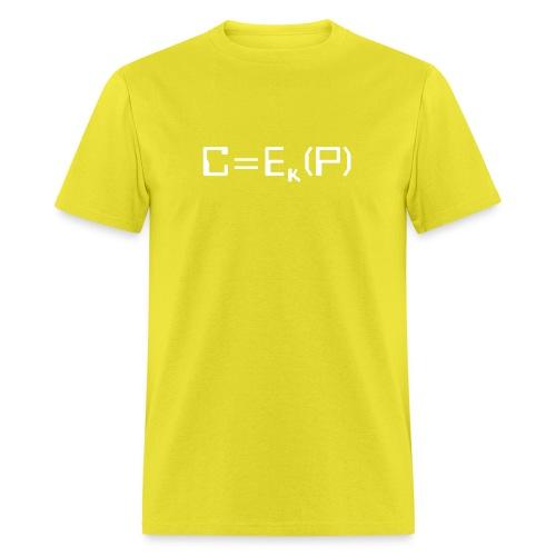 Ciphertext equals encrypted plaintext - Men's T-Shirt