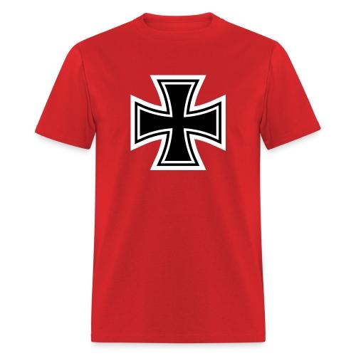 1200px German Cross svg - Men's T-Shirt