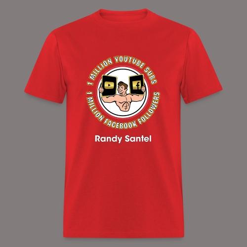 1 Million Subscribers Design - Men's T-Shirt