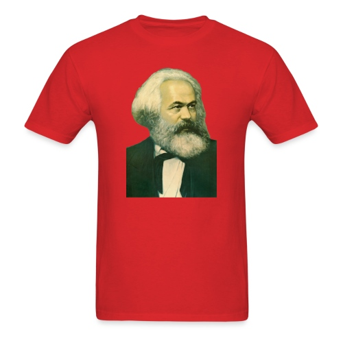 Karl Marx Portrait - Men's T-Shirt