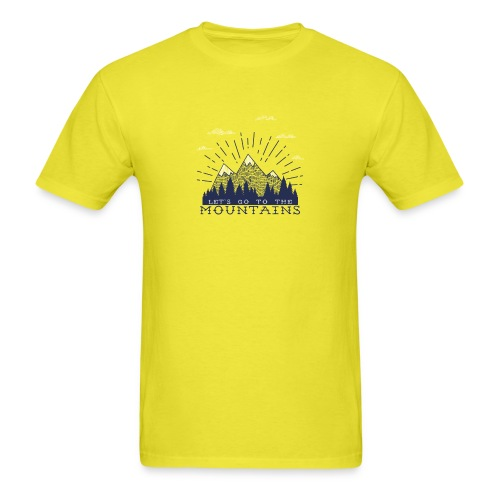 Adventure Mountains T-shirts and Products - Men's T-Shirt