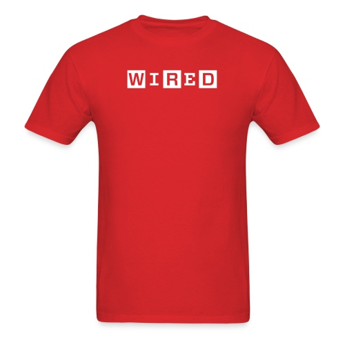 wired 1 color original - Men's T-Shirt