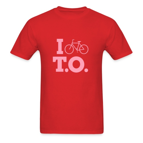 Left Wing Pinko I Bike T.O. T-Shirt (Womens) - Men's T-Shirt