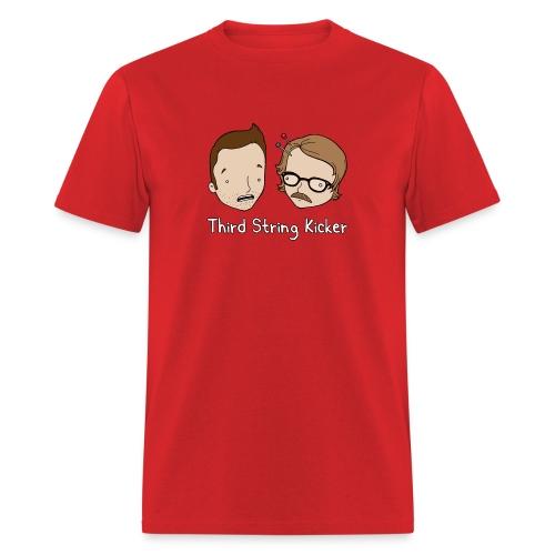 Third String Kicker Logo - Men's T-Shirt