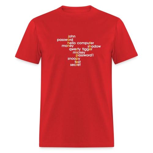 John The Ripper Crossword 3 - Men's T-Shirt
