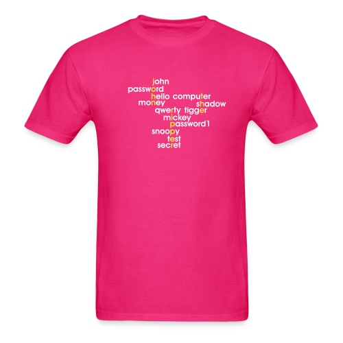 John The Ripper Crossword 3 - Men's T-Shirt