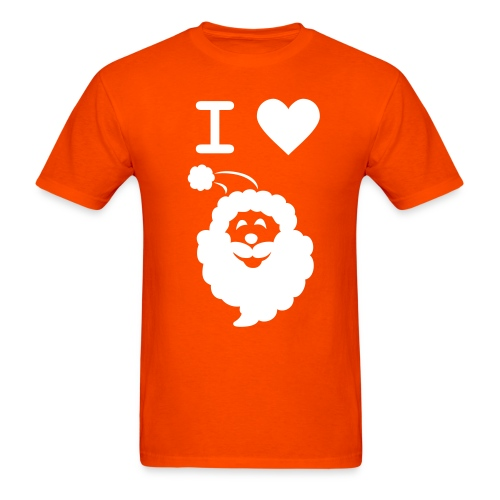 I LOVE SANTA - Men's T-Shirt