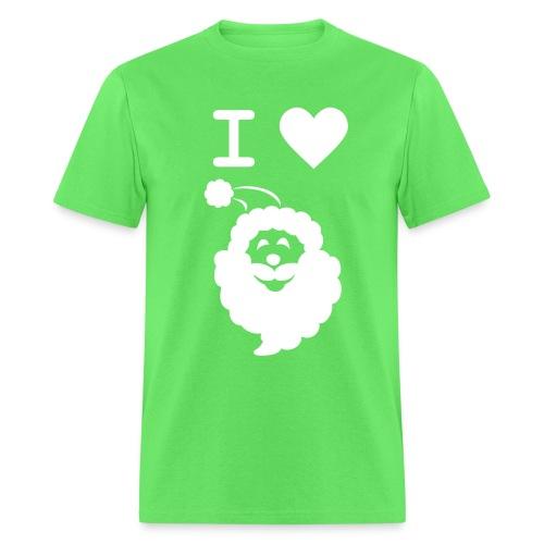 I LOVE SANTA - Men's T-Shirt
