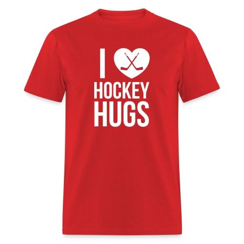 I [Heart] Hockey Hugs - Men's T-Shirt