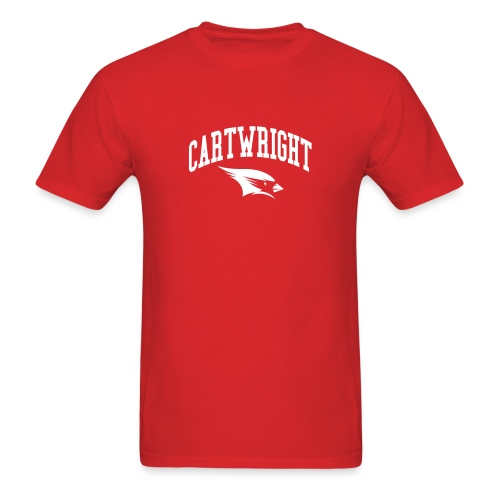 Cartwright College Logo - Men's T-Shirt