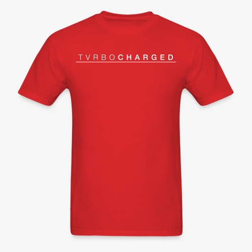 TVRBOCHARGED LOGO - Men's T-Shirt