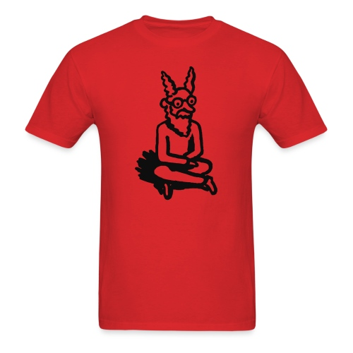 The Zen of Nimbus t-shirt / Black and white design - Men's T-Shirt