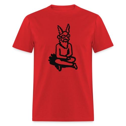 The Zen of Nimbus t-shirt / Black and white design - Men's T-Shirt