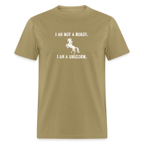 unicorn tall white - Men's T-Shirt