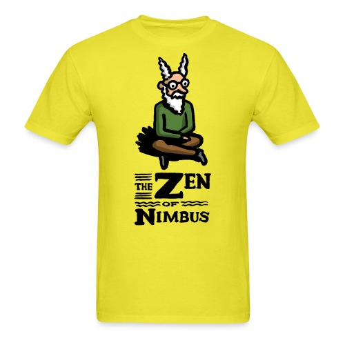 The Zen of Nimbus t-shirt / Nimbus color with logo - Men's T-Shirt