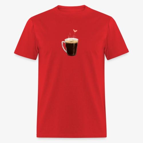 Coffee Cup LOVE - Men's T-Shirt