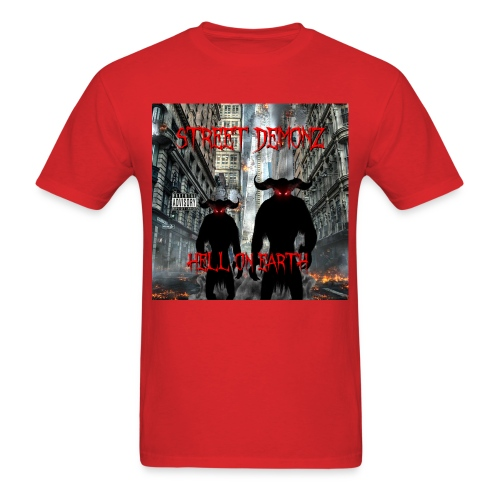 STREET DEMONZ 2.0 ALBUM COVER - Men's T-Shirt