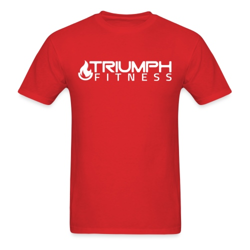 triumph 03 clear white - Men's T-Shirt