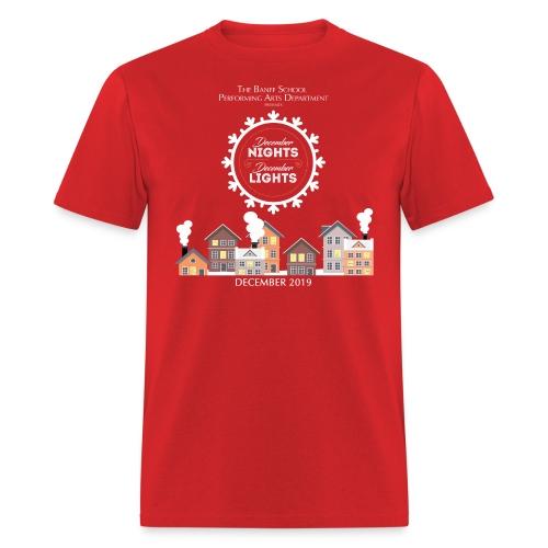 December Nights, December Lights K-5 Show Shirt - Men's T-Shirt