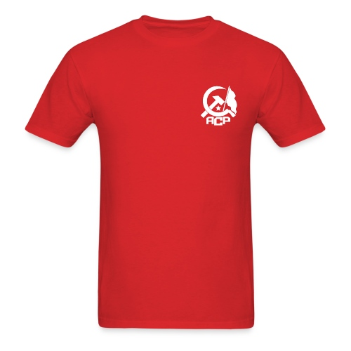 ACP - Fred Hampton - Red - Men's T-Shirt