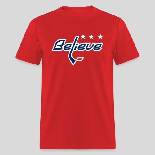 Believe Red Shirt - Men's T-Shirt
