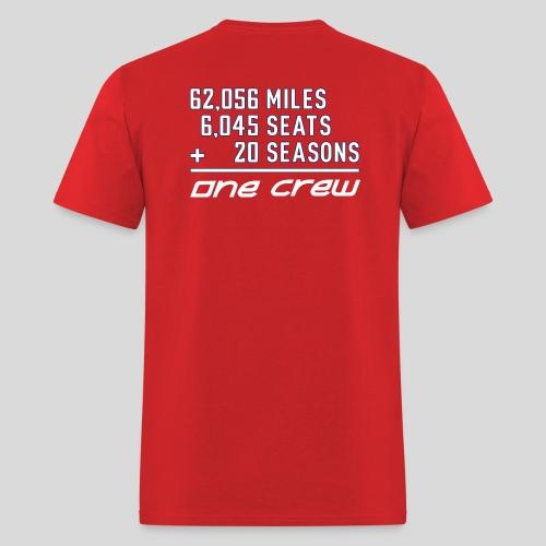 20th Season red - Men's T-Shirt