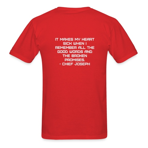 Chief Joseph Quote - Men's T-Shirt