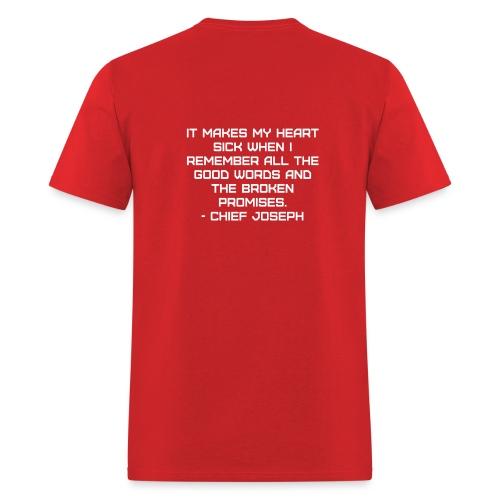 Chief Joseph Quote - Men's T-Shirt
