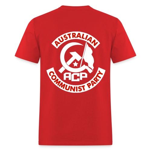 ACP White Patch Design - Men's T-Shirt