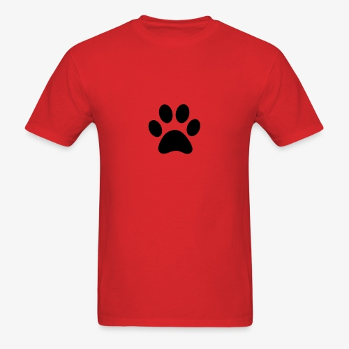 Paw print - Men's T-Shirt
