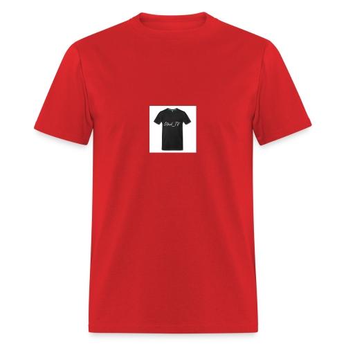 Čierne tričko D3vid_TV - Men's T-Shirt