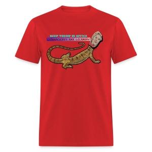 HILLARY THE LIZARD - Men's T-Shirt
