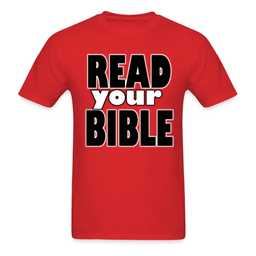 Read your Bible Hope Possible - Men's T-Shirt