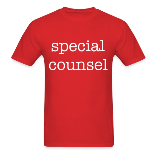 Special Counsel - Men's T-Shirt