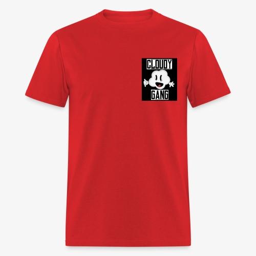 Cloudy Gang (Mens pocket edition) - Men's T-Shirt