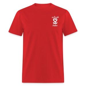 SCHREIB TRIBE MERCH WHITE LOGO - Men's T-Shirt