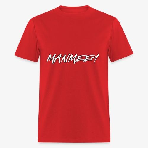 manmeet brush logo - Men's T-Shirt