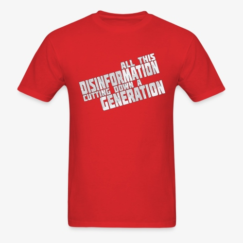 Disinformation - Men's T-Shirt