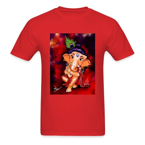 Little Ganesha - Men's T-Shirt