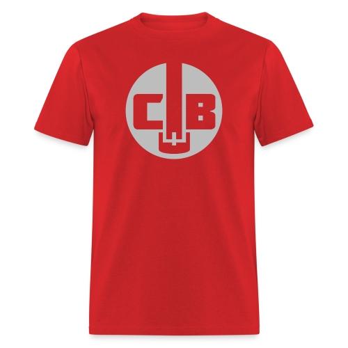 TCB Logo Grey One Color - Men's T-Shirt