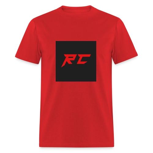 RED RC Logo - Men's T-Shirt