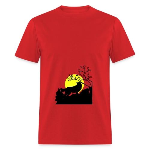 T-shirt Wolf - Men's T-Shirt
