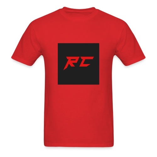 RED RC Logo - Men's T-Shirt