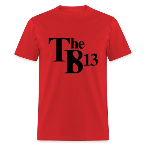 TBisthe813 BLACK - Men's T-Shirt