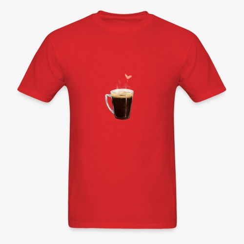 Coffee Cup LOVE - Men's T-Shirt
