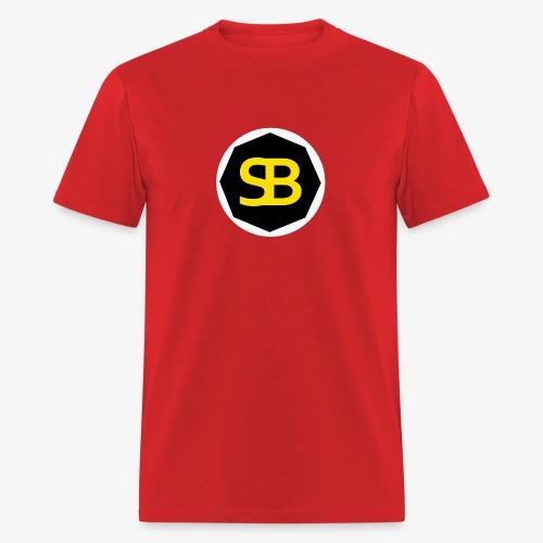 New StreamBox Logo Blk Gold - Men's T-Shirt